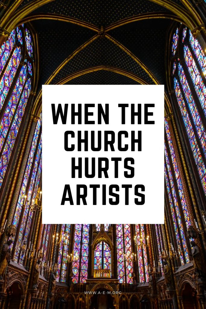 when the church hurts artists