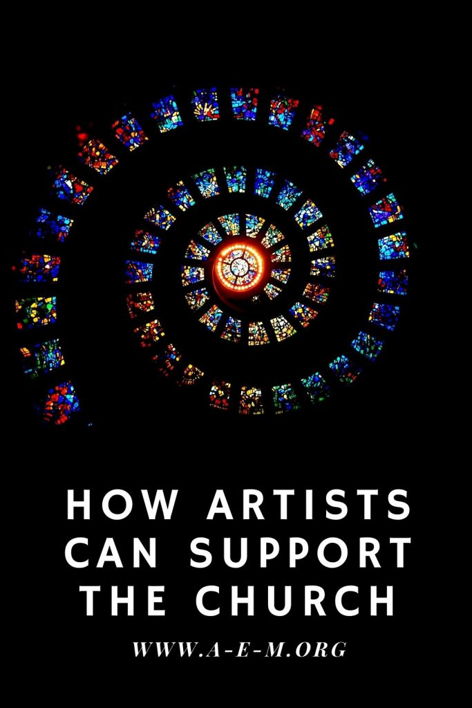 how artists can support the church