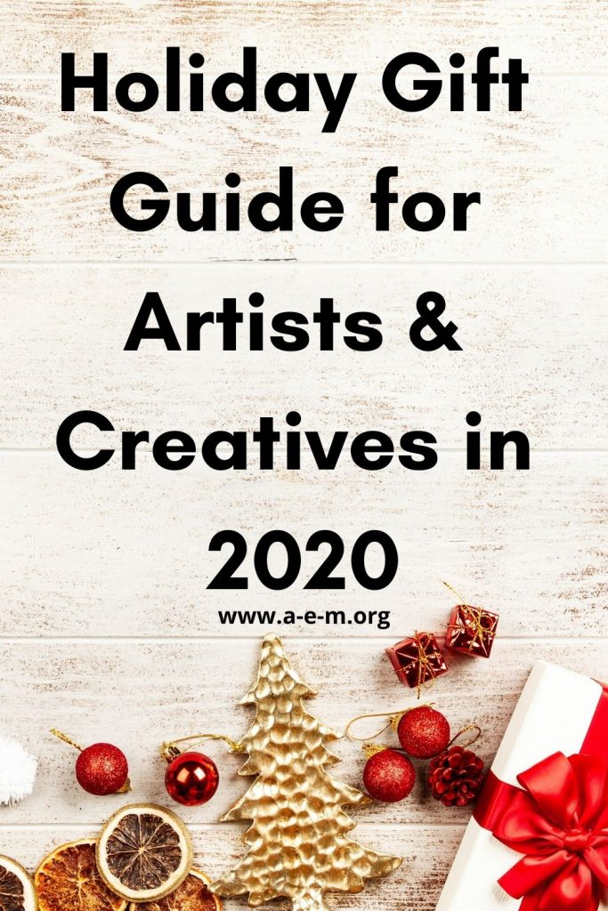 holiday gift guide for artists and creatives in 2020
