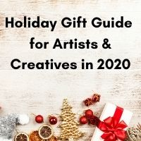 holiday gift guide for artists and creatives 2020